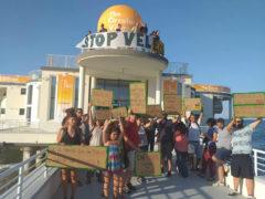 Stop vel-ENI, manifestazione contro lo sponsor del CaterRaduno