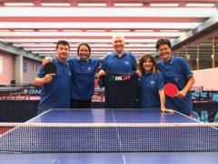 Membri del Tennistavolo Senigallia in partenza per i Campionati europei di specialità