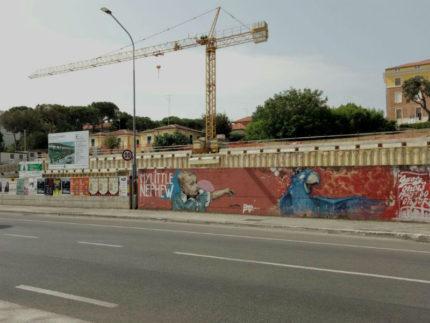 Lavori parcheggio multipiano via Cellini