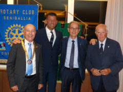 L'ing. Massimo Spadoni Santinelli è il nuovo presidente del Rotary club Senigallia.