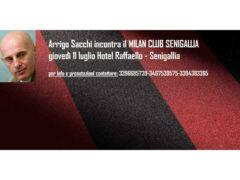 Arrigo Sacchi incontrerà i tifosi del Milan Club