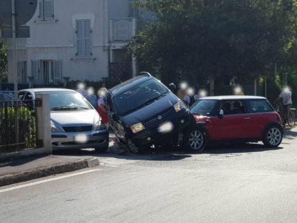 Incidente tra viale dei Pini e via Mercantini