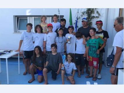 Team Sailing Park - squadra Optimist