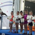 Soddisfazioni per la Polisportiva Senigallia dalla ginnastica ritmica
