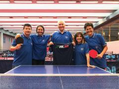 Atleti del Tennistavolo Seinigallia agli europei Master di Budapest