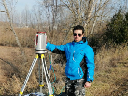 Scannerizzazione fiume Misa