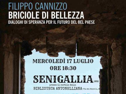 """Presentazione a Senigallia di """"Briciole di Bellezza. Dialoghi di speranza per il futuro del Bel Paese"""" di Filippo Cannizzo"""