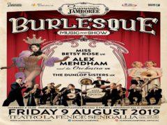 Spettacolo di Burlesque nell'ambito del Summer Jamboree 2019