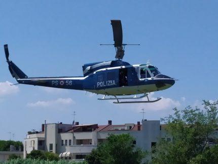 Elicottero in forza alla Polizia di Stato