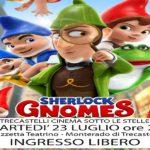 """Locandina del cartone animato """"Sherlock Gnomes"""""""