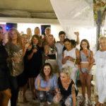 Festa per i 21 anni di attività del ristorante pizzeria Al Vicoletto da Michele a Senigallia