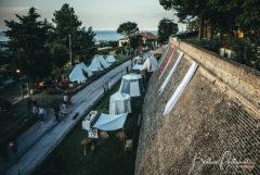 Accampamento medievale alla Festa Castellana di Scapezzano di Senigallia