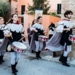 Tamburi e musici alla Festa Castellana di Scapezzano di Senigallia
