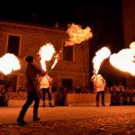 Mangiafuoco alla Festa Castellana di Scapezzano di Senigallia