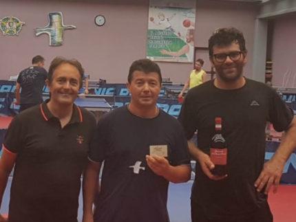 Lorenzo Fiorentini e Fabrizio Cecchini il 3° e 4° torneo Mare-PingPong