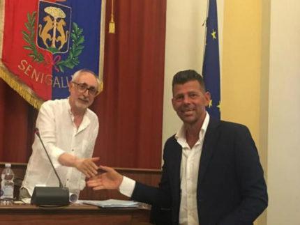 """Luigi Rebecchini eletto presidente del consiglio dell'Unione comunale """"Le Terre della Marca Sènone"""""""