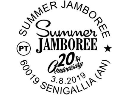 Speciale annullo filatelico dedicato al Summer Jamboree #20
