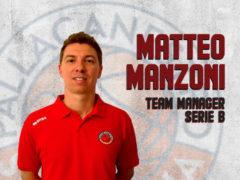 Matteo Manzoni Team Manager Pallacanestro Senigallia