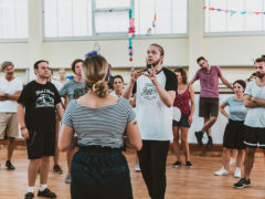 Un momento del Dance Camp del Summer Jamboree