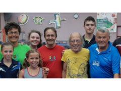 Terminato lo stage internazionale di tennistavolo del Maestro Vladimir Krapov