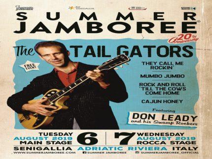 Spettacolo dei Tail Gators per il Summer Jamboree 2019