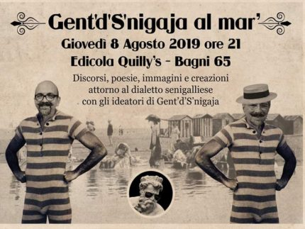 Serata promossa dall'Ass. Culturale Gent'd'S'nigaja