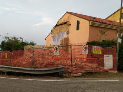 Demolita la chiesina del Cavallaro