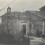 Vecchia immagine della chiesina del Cavallaro