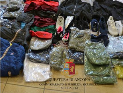 Sequestrata merce contraffatta