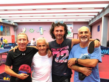 """""""Mare Mio"""" vince il torneo per stabilimenti balneari di ping-pong"""