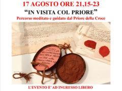 """""""In visita col Priore"""" alla Chiesa della Croce"""