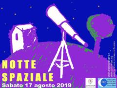 Notte spaziale 2019