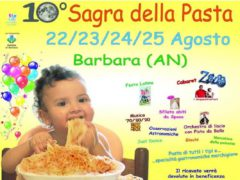 Locandina della 10° edizione della Sagra della Pasta