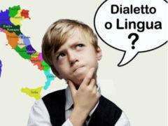 Dialetto, lingua italiana