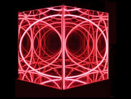 """""""Cubo multispaziale"""" di Paolo Scirpa"""