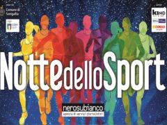 """Locandina della """"Notte dello Sport 2019"""""""