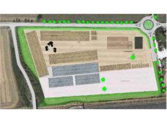 Progetto impianto gestione rifiuti a Cesano di Senigallia