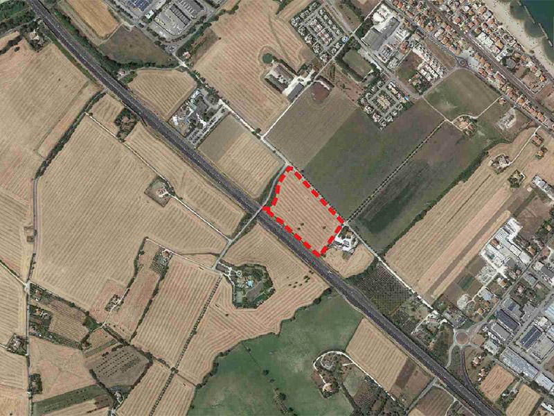 Progetto impianto gestione rifiuti a Cesano di Senigallia - ubicazione