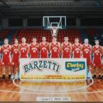Pallacanestro Senigallia 2000-2001