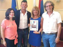 Coppia di turisti di Cinisello Balsamo ricevuti in Comune