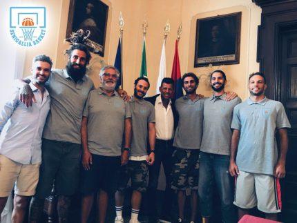 Presentazione in Comune del Senigallia Basket 2020