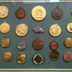 Le medaglie vinte da Giorgio Mancinelli