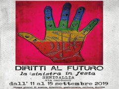 Locandina dell'edizione 2019 di Diritti al Futuro