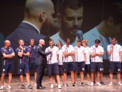 Presentazione dell'FC Vigor Senigallia in occasione della Notte dello Sport