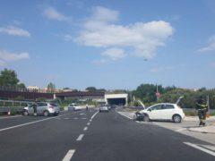 Incidente stradale sulla Complanare