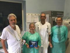 La BCC di Ostra e Morro d'Alba dona un Ecografo all'Ospedale di Senigallia