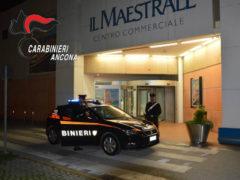 """maxi furto al centro commerciale """"Il Maestrale"""""""