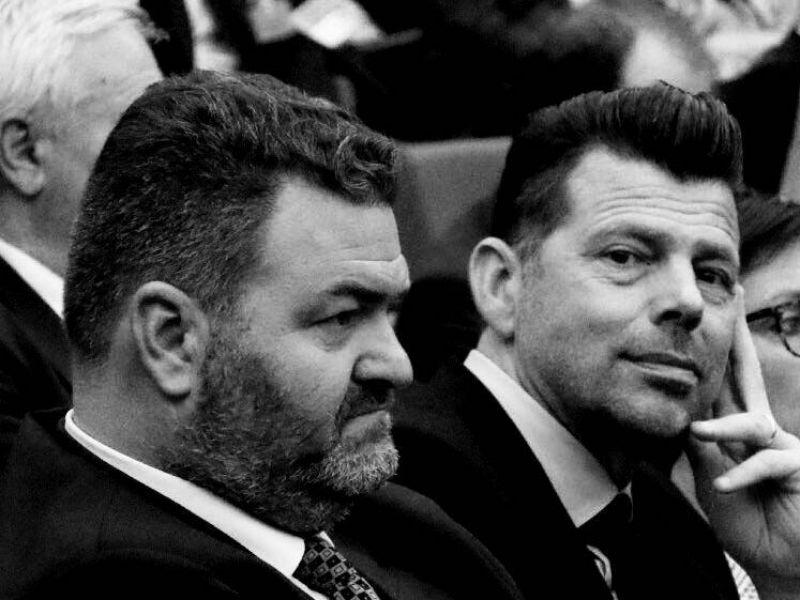 Enzo Monachesi e Maurizio Mangialardi