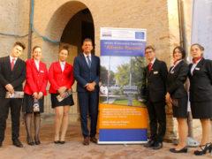 Studenti e staff del Panzini a Pane Nostrum 2019