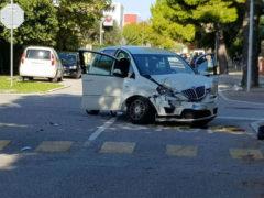 Incidente alla Cesanella tra via Giotto e via Piero della Francesca